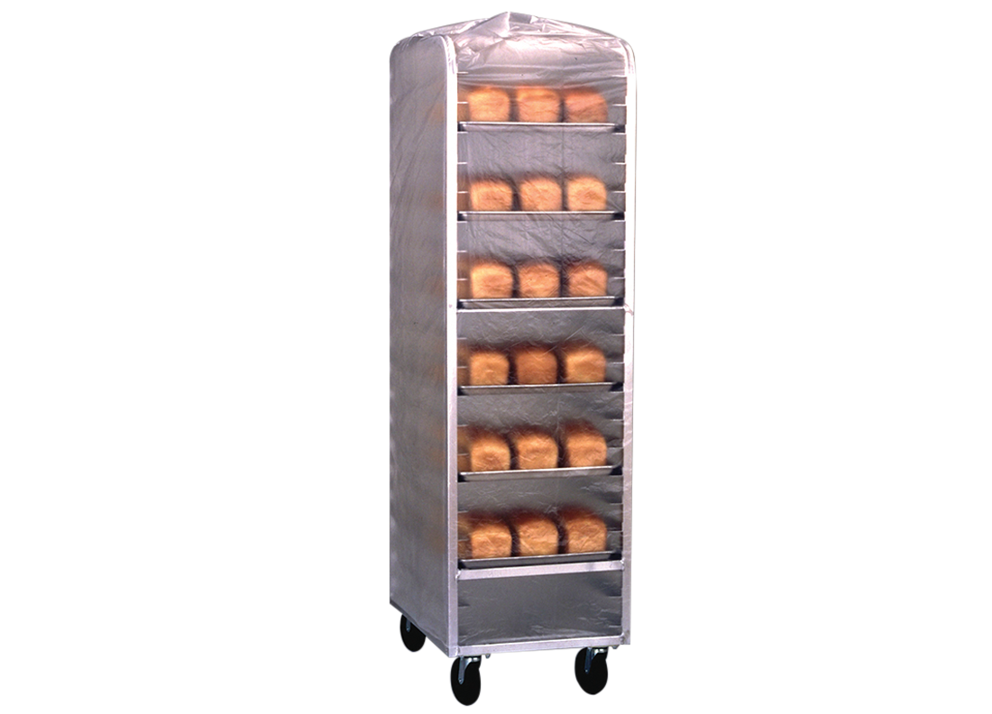High Density Bun Pan Rack Covers Image