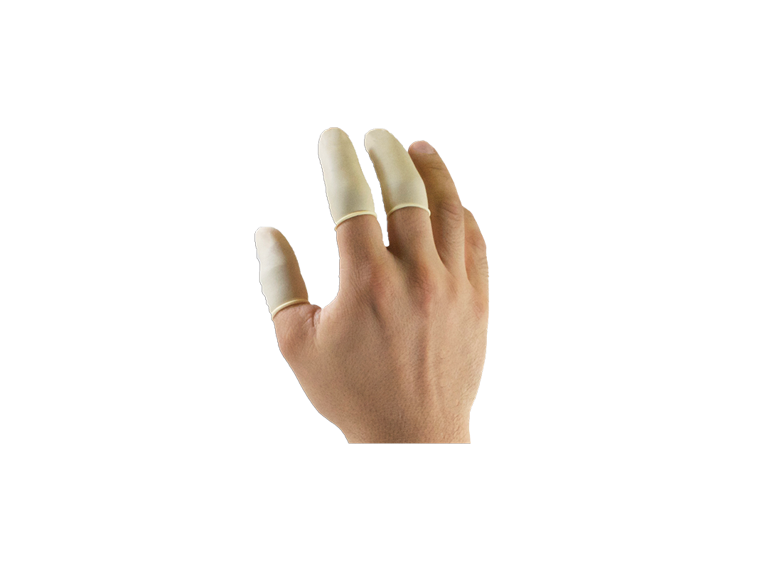 Latex Disposable Finger Cots Image
