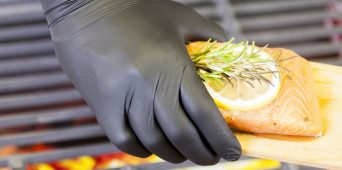 Handgards Foodservice Black Nitrile – the Grill Master